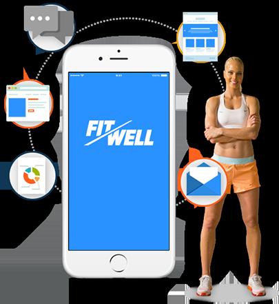 Fitwell mobil uygulama
