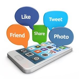 mobil uygulamalar ile sosyal medyada etkileşim
