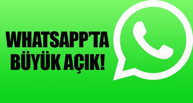 Whatsapp Web Açık Bulundu