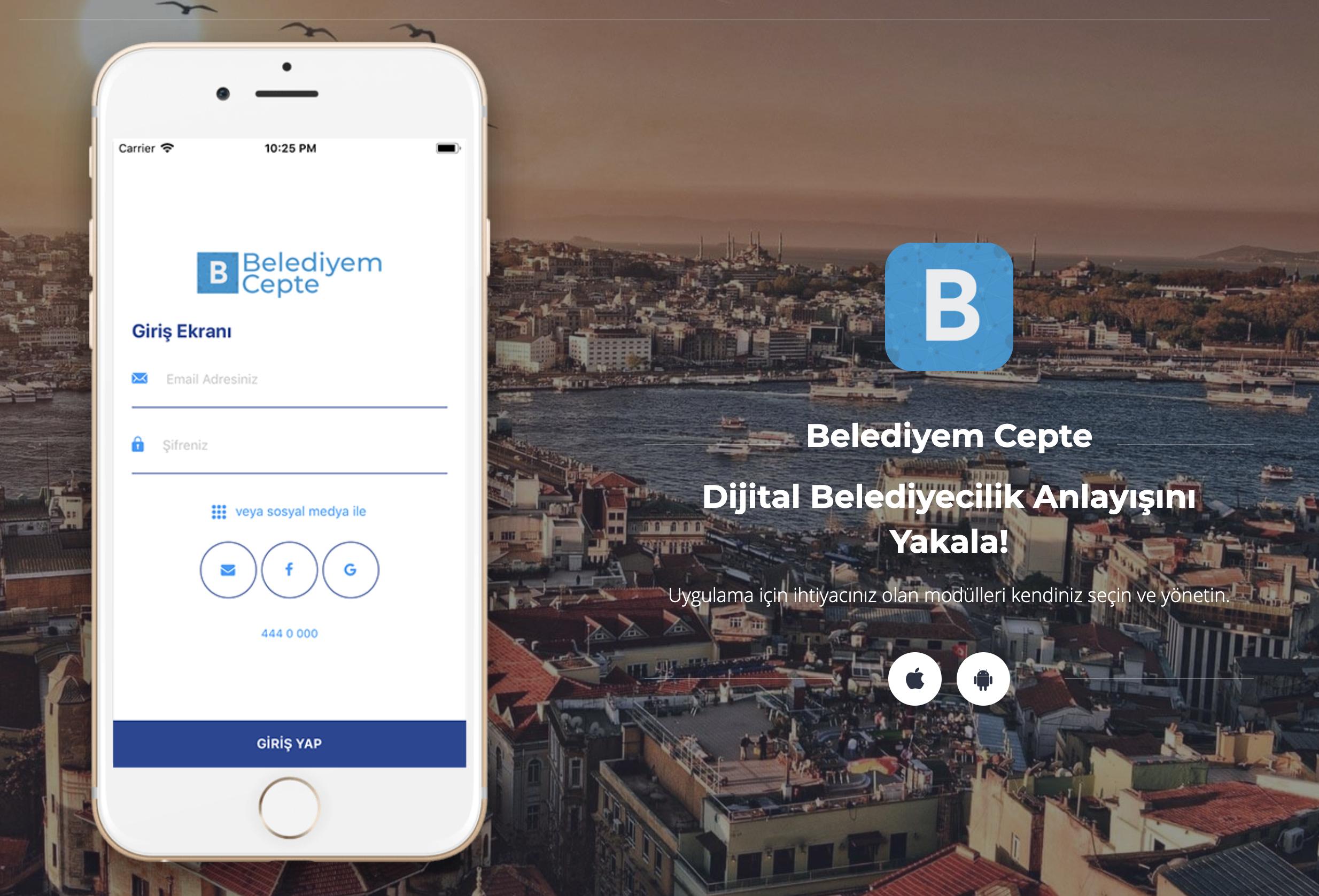 """Belediyeler İçin Mobil Uygulama """"Belediyem Cepte""""    Artık birçok belediye vatandaş ile iletişim gücünü daha da güçlendirmek için dijital ortamda yerini alıyor. Özellikle işleri kolaylaştırmak adına belediyecilikte kullanılan uygulamalar belediyelere özel yazılımlar… devamını gör •••"""