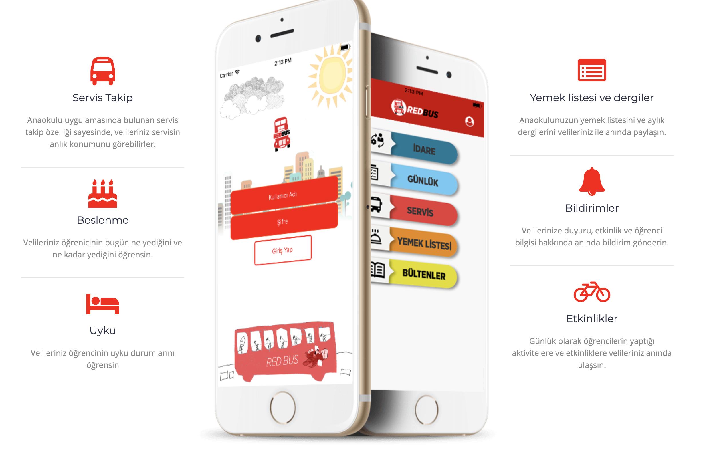 """ANAOKULLARINDA YENİ NESİL İLETİŞİM ARACI: ANAOKULUMCEPTE MOBİL UYGULAMASI    İzmir'de ki Digital Intelligence isimli yazılım & reklam şirketi tarafından, anaokullarında iletişimi kolaylaştırmak için """"Anaokulum Cepte"""" adlı hem android hem IOS uyumlu birmobil… devamını gör •••"""