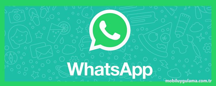 WhatsApp, mobil sohbet ve mesajlaşma uygulamaları arasında en çok kullanılan mobil uygulamalardan biri, çoğu araştırmaya göre bir numara. Günümüzde neredeyse her 10 akıllı telefonun 8'inde WhatsApp yüklü ve bu popüler… devamını gör •••